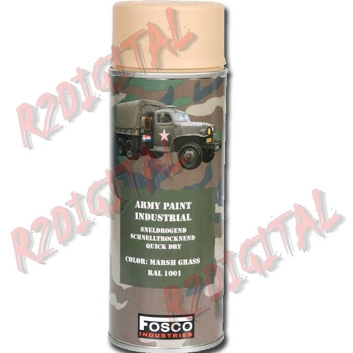 VERNICE ARMI FOSCO SPRAY MARSH GRASS RAL 1001 400ML PISTOLA